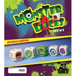 Painted MonsterDice (limited edition)