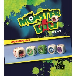 Unpainted MonsterDice