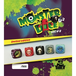 Painted MonsterDice (limited edition) set N°2