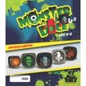 Monstrodés peints (édition limitée) set N°3