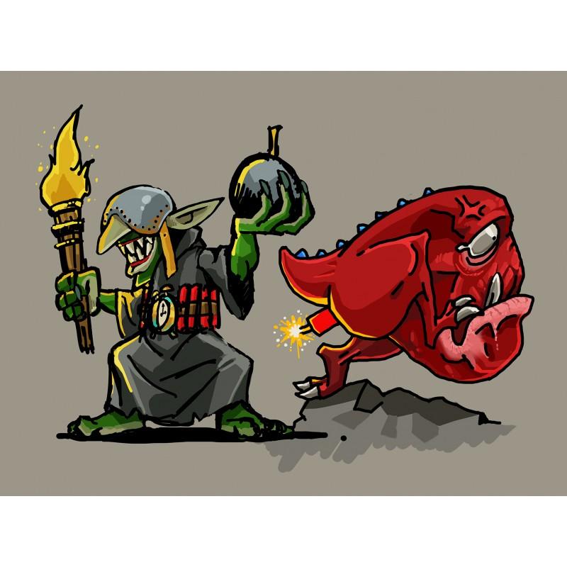 Goblin artificer