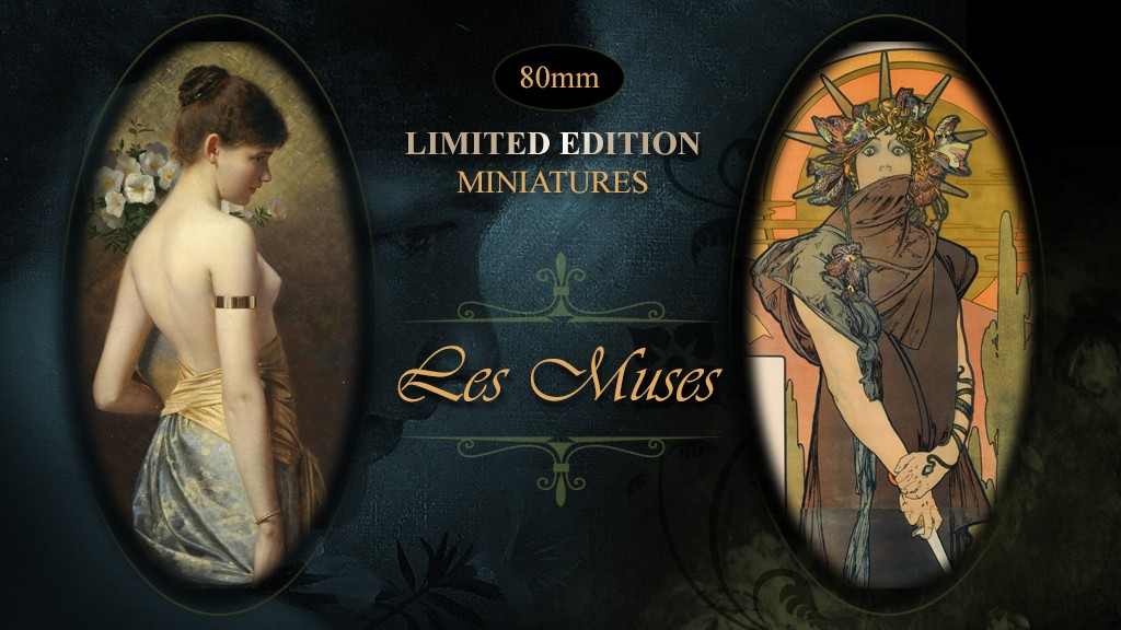 Les muses: New kickstarter campaign