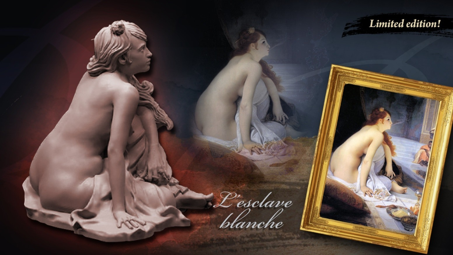 """Les """"Muses"""": l'Esclave Blanche"""