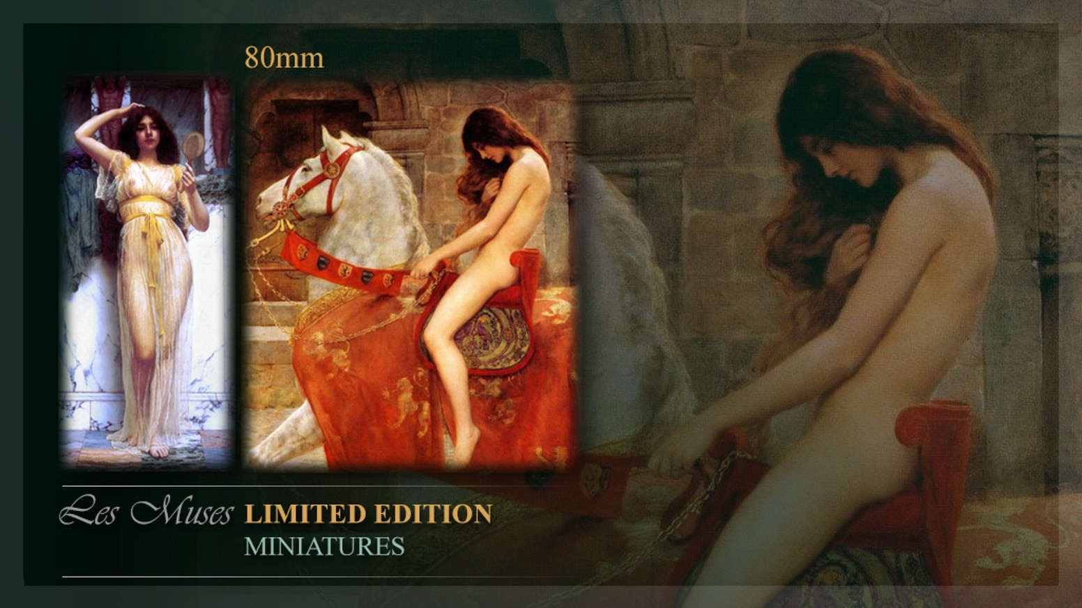 Les Muses: Lady Godiva & The mirror